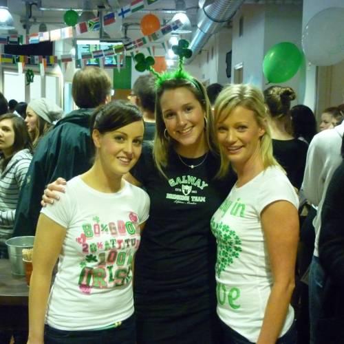 Estudiantes de inglés en Atlantic, Galway