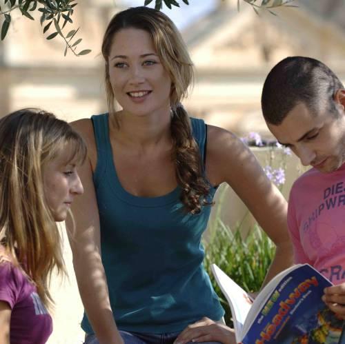 Estudiantes de ingles en Malta