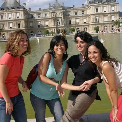 Visita a los Jardines de Luxemburgo