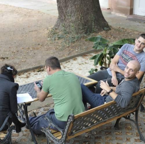 Grupo de estudiantes de alemán de IH Heidelberg