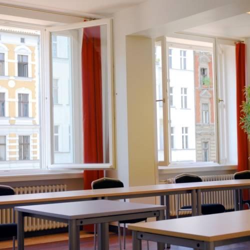 Instalaciones del campus GLS en Berlin