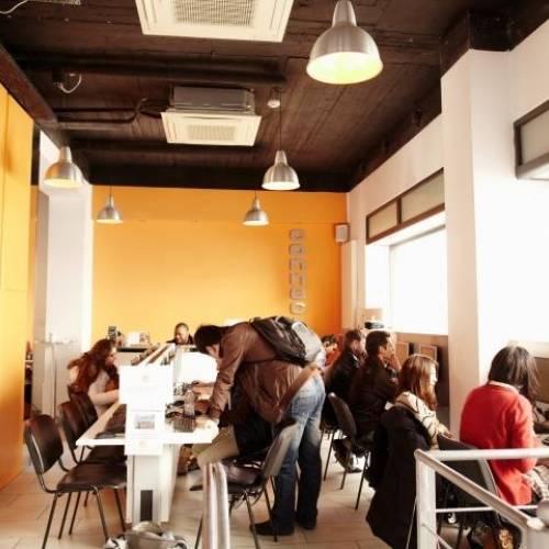 Internet café, EC Malta