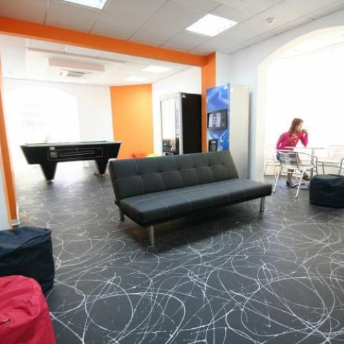 Student area, EC Malta