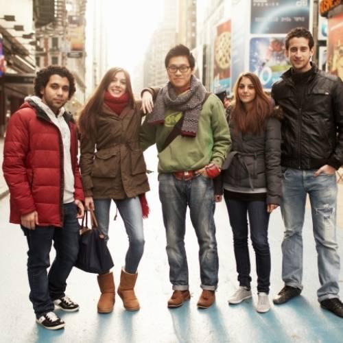 Estudiantes de EC New York