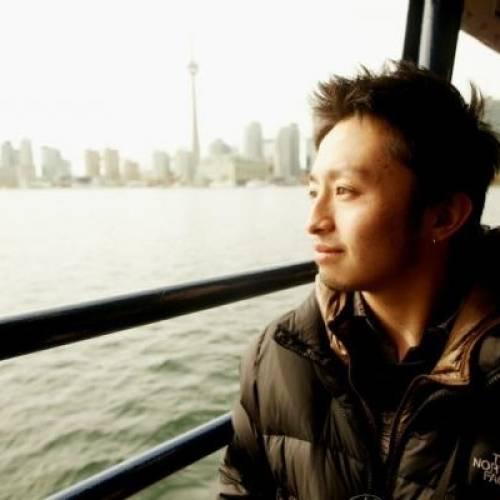 Estudiante en el ferry, Toronto