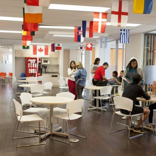 Student area, EC Toronto