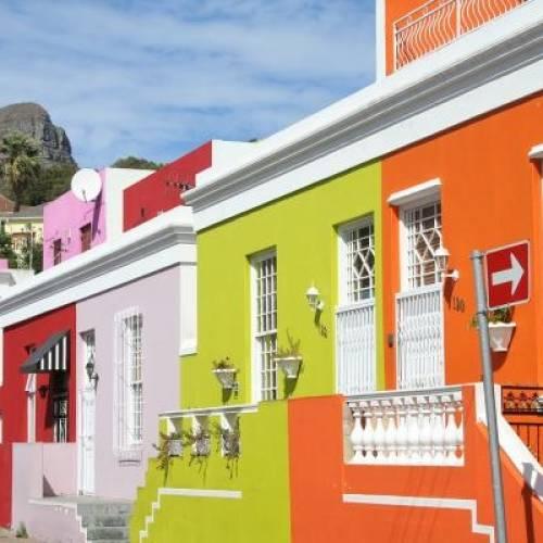Barrio de Bo-Kaap Cape Town