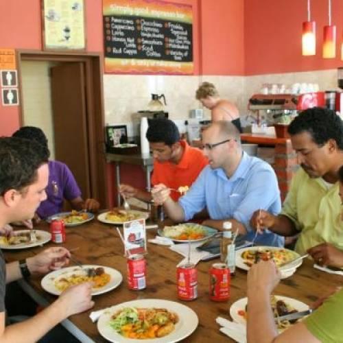 Cafetería en EC English, Ciudad del Cabo