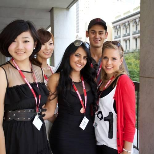 Estudiantes de inglés de Browns en Brisbane