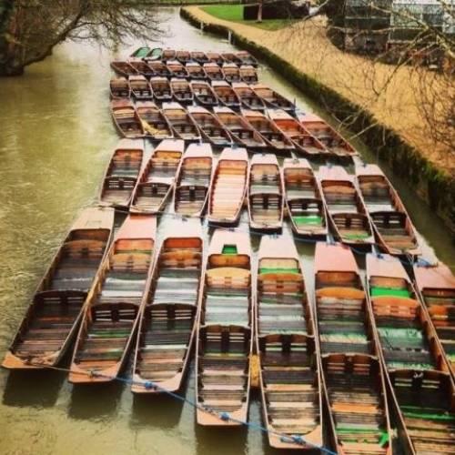 Punting en Oxford