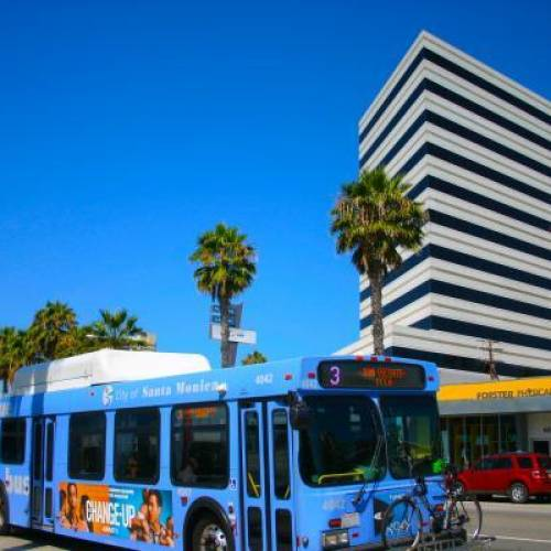 Wilshire Boulevard Santa Monica