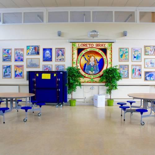 Zonas comunes de la escuela Bray
