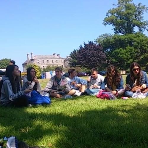 Curso de verano para menores en Bray - 2014